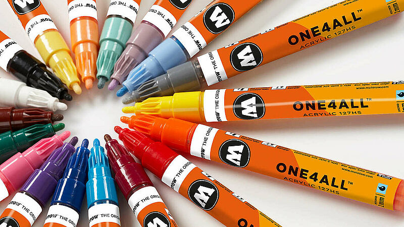 "Molotow - ""ONE4ALL™"" Acrylic Twin Marker"