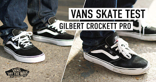 Skate Wear Test: Vans Gilbert Crockett Pro | Titus