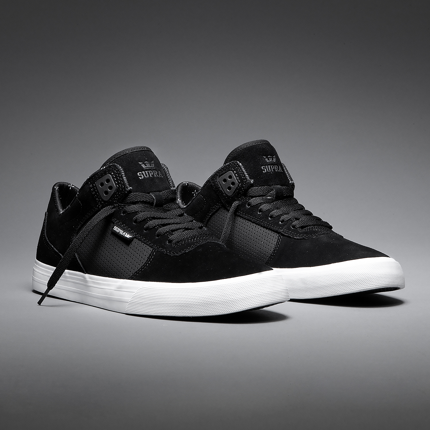 SUPRA Ellington Vulc | Black-White
