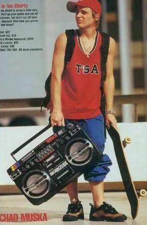 Chad Muska |Now THAT is a Boombox