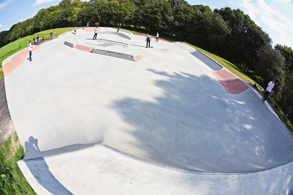 74298cecf9b127 Skateparks unter die Lupe genommen - Viersen - Titus.de - Skateboard ...