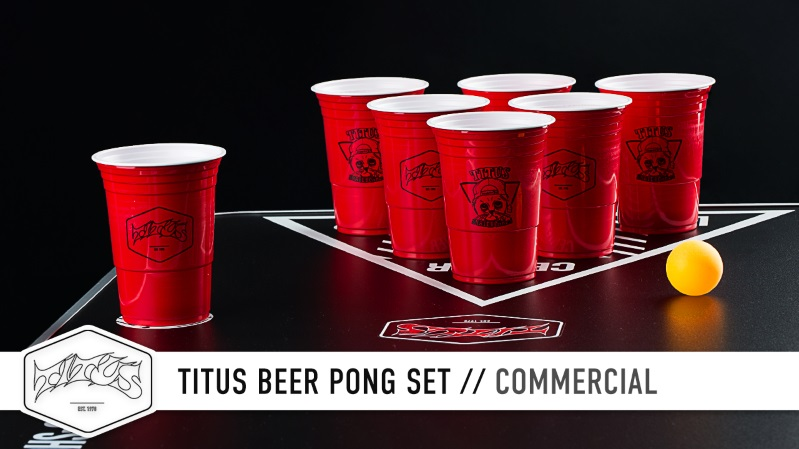 Titus Beer Pong Set | Commercial