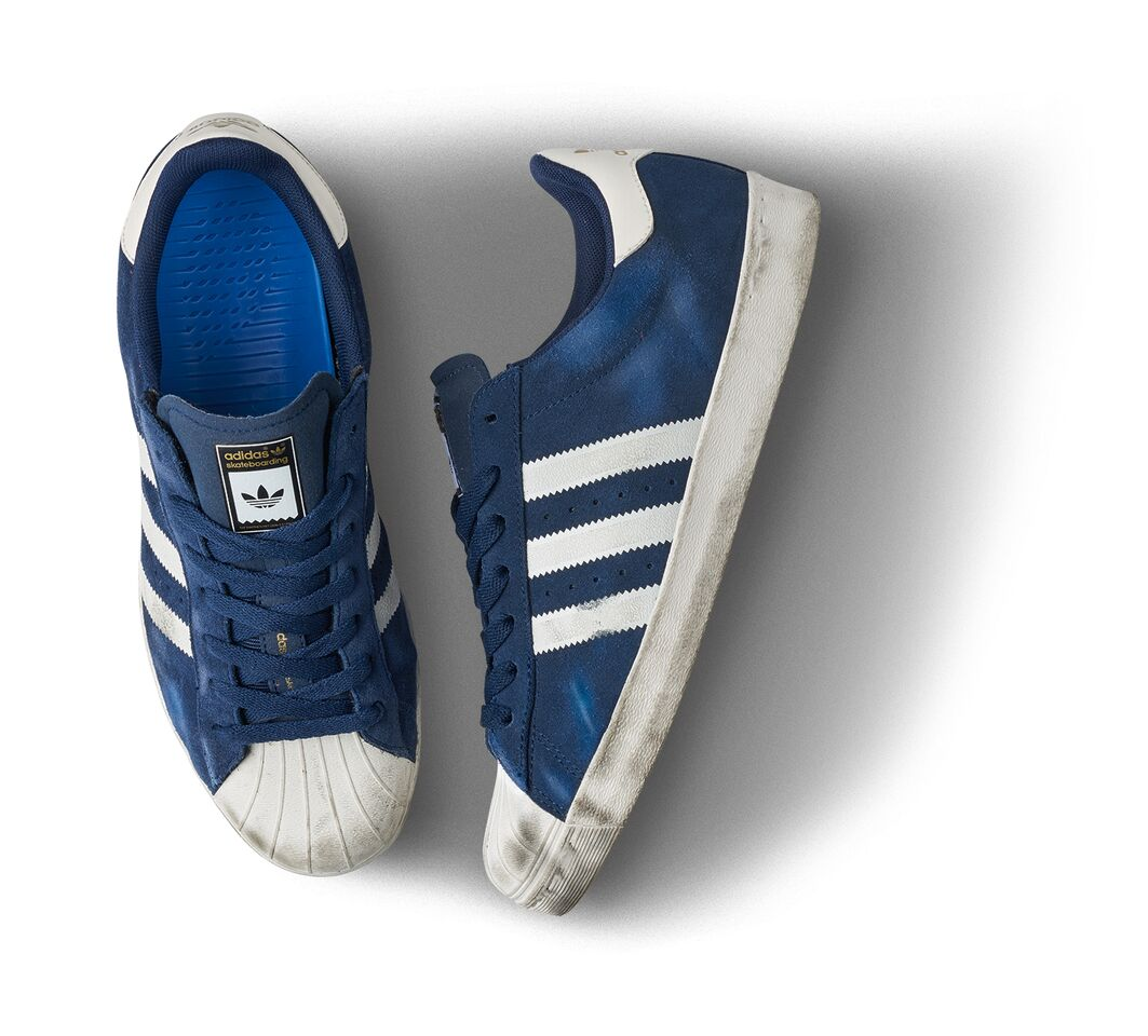 adidas Skateboarding Superstar ADV blue