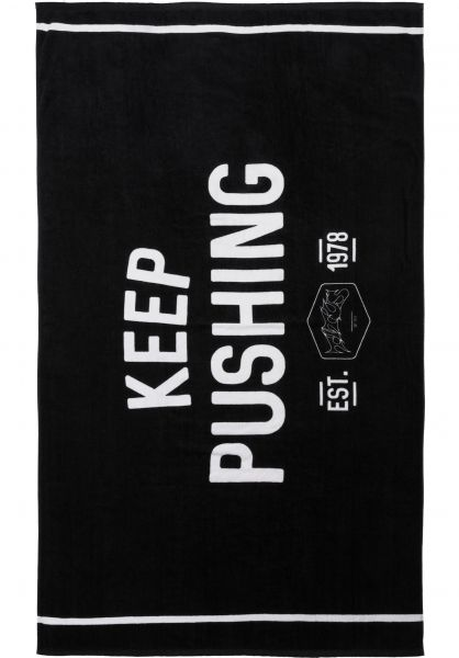 TITUS-Verschiedenes-KEEP-PUSHING-Beach-Towel-180x100cm-black-Vorderansicht_600x600.jpg