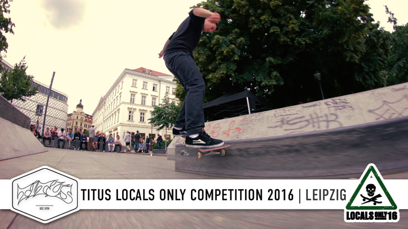 Titus Locals Only Competition 2016 Leipzig