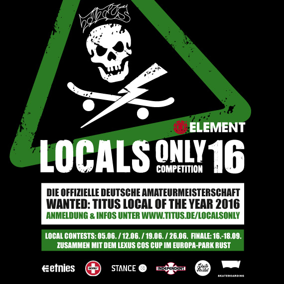Titus Locals Only Competition 2016
