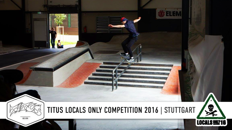 Stuttgart - Titus Locals Only Competition 2016