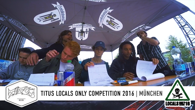 München - Titus Locals Only Competition 2016
