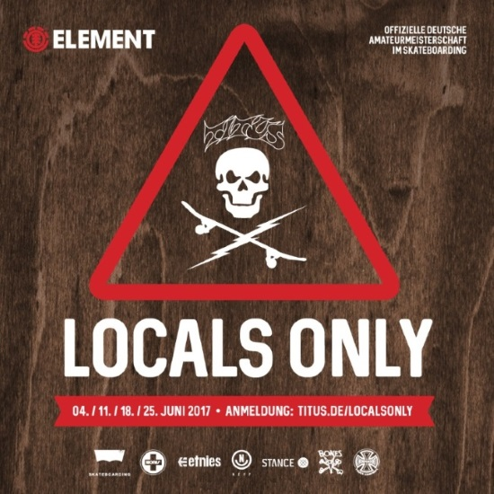 Titus Locals Only Competition 2017 Flyer
