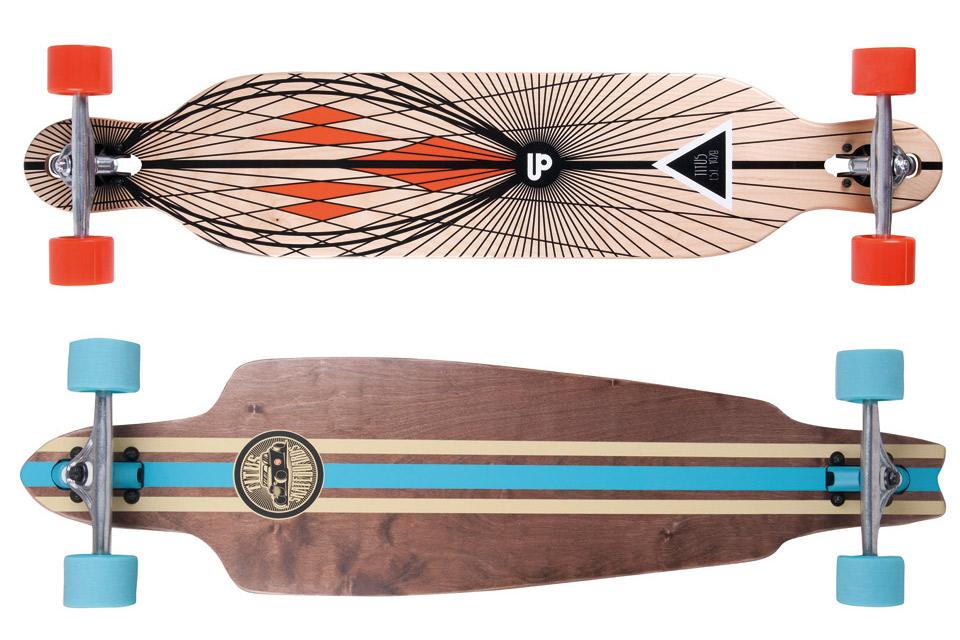 04d0ea9fdf8898 Longboard-Decks  Das richtige Deck für jedes Terrain